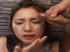 Japanese, Asian, Babe, Cum, Cumshot, Facial