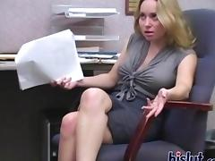 Office, Amateur, Big Tits, Blonde, Boobs, Boss