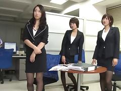 Boss, Asian, Boss, Fetish, Footjob, Foursome