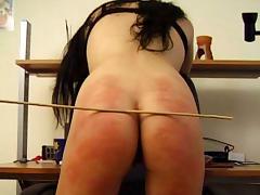 BrutalPunishment Video: Liz's Blush-Red Butt tube porn video