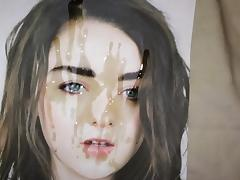 Maisie Williams cum tribute 11