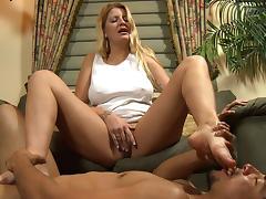Big Clit, Angry, BDSM, Big Clit, Big Tits, Blonde