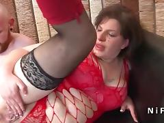 Squirt french bbw hard fucked and sodomized porn tube video