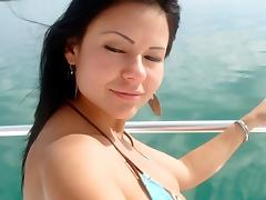 We're on a boat! porn tube video