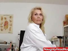 Lady, Blonde, Fucking, Masturbation, Nipples, Lady