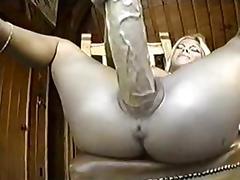 Masturbacja i OGROMNE dildo