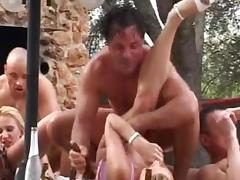 german group in Mallorca tube porn video