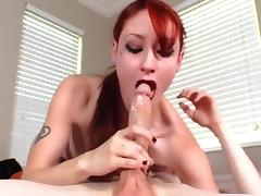 DeepThroat & Gagging & FaceFucking - Violet Monroe