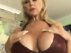 Granny Big Tits, Big Tits, Blonde, Boobs, Fucking, Granny