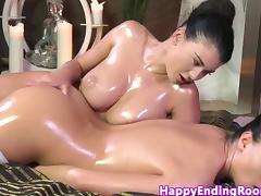 Massage, Babe, Grinding, HD, Lesbian, Massage