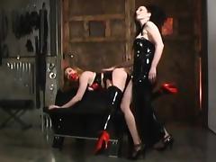 Sharon gets torture porn tube video