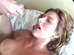 Hot woman facial