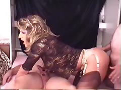 crossdresser gets some dick porn tube video