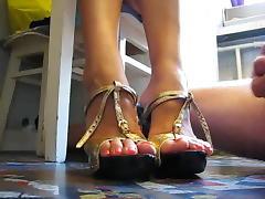 Cum on feet 0035