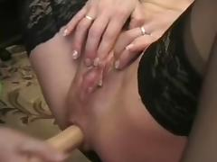 Mature closeup ass fisting and toying