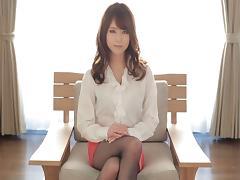 Akiho Yoshizawa shows off her flexibility while fucking tube porn video