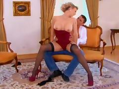 Tarra White Black Stockings Sex