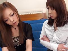 Lesbian Seduction, Asian, Classy, College, Fingering, Japanese