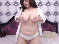 Big Boobed Camgirl flash porn tube video