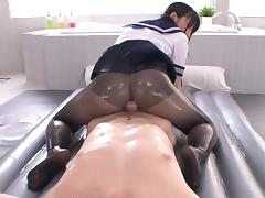 cocoa rubs her sweets all over his meat tube porn video