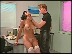 Babe spanked hard by master