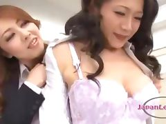 Teacher Getting Her Nipple Sucked Pussy Fingered By Other Teacher On The Desk In The Classroo