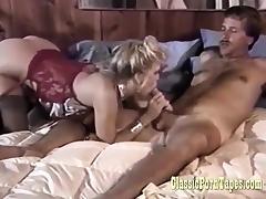 Vintage Clip With Slut Teasing