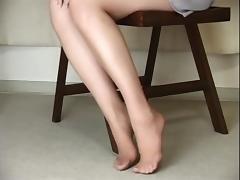 Japanese, Asian, Japanese, Nylon, Pantyhose, Teen