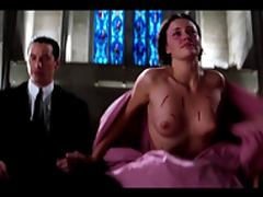 Charlize Theron and Connie Nielsen - The Devil's Advocate