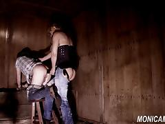 Dirty femdom barngirl is fucking and pegging - Norske Monica tube porn video
