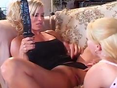 Busty lesbians mature blonde