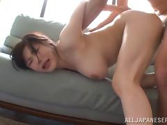 Japanese Big Tits, Asian, Big Tits, Boobs, Couple, Doggystyle