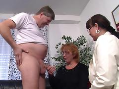 Chubby older women who turn into raging sluts when horny