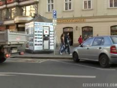 CZECH STREETS PETRA tube porn video