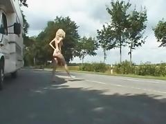 2 hot sexy girls flashing nude in public loveparade germany