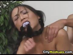 Sexy Petite Asian Babe Fuck In Office