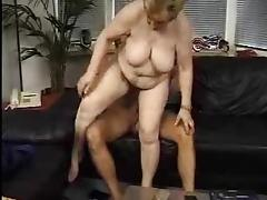 Hairy grannies and young cocks