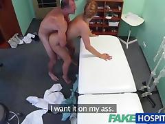 1fuckdatecom Fakehospital beautiful redhead
