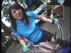 Riding Dildo Bikes In Public porn tube video