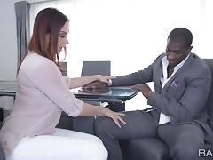 Boss, Boss, Couple, Hardcore, Interracial, Office