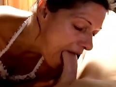 Granny deep-throat