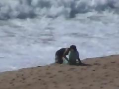 Caught, Amateur, Arab, Beach, Caught, Couple