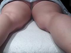 caught my slut wife with masseur on hidden spycam porn tube video