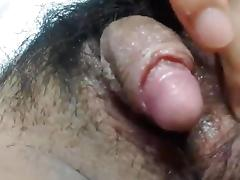 Big, hard and cheesy clit porn tube video