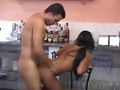 Fucking the bartender
