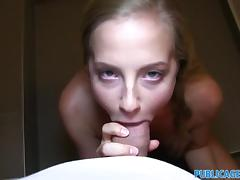 PublicAgent Beautiful blonde with tiny pussy