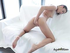 Babe  Lolly C Misses Her Lover And Masturbates