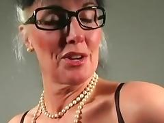 Teacher, Femdom, Masturbation, Mature, Old, POV