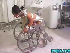 Rick slaps butt cheeks