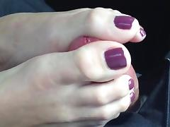 Car, Amateur, Car, Footjob, Mature, Old